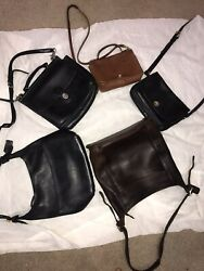 Coach Vintage Leather Crossbody Bags Lot $220.00