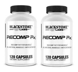 Blackstone Labs Recomp Rx Muscle Anabolic Anti-catabolic 2 Bottles