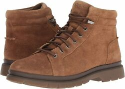 Sperry Watertown Ltt Outdoor Boots Mens Brown Leather Suede Water-resistant 8m