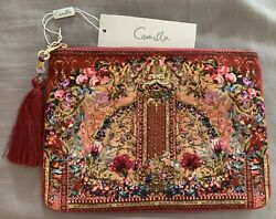 CAMILLA Canvas Clutch New With Tags Clutch Women#x27;s $100.00