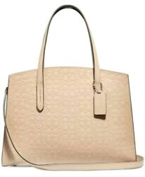 NEW AUTHENTIC COACH Charlie Carryall in Signature Leather #51728 $189.00