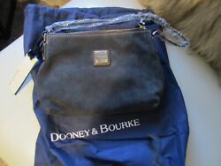 DOONEY AND BOURKE CHARCOAL SUEDE POUCHETTE NWT $69.99