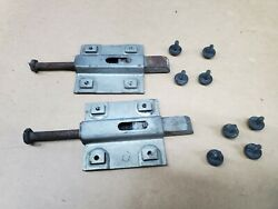 71 72 73 Ford Mustang And Shelby Fastback Fold Down Rear Seat Side Latch Pair