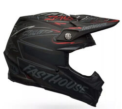 Bell Moto 9 Flex Fasthouse Did 21 Matte Black / Gray / Red 713214