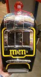 Mandm's World Slot Machine Chocolate Candy Candies Dispenser New W Tag And Free Ship