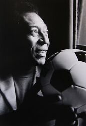 Pele - Famous Brazilian Footballer - Collectable Photography By Ralph Gibson