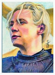 Game Of Thrones Complete Brienne Tarth Character Sketch By Carlos Cabaleiro 1/1