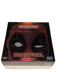 Monopoly Game Marvel Deadpool Collectorand039s Edition