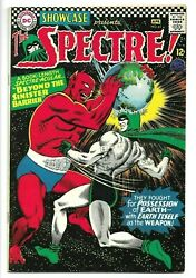 Showcase 61, April 1966, Dc, 2nd Silver Age Appearance Of The Spectre 8.5 Vf+