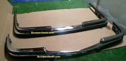 Mercedes W116 Stainless Steel Bumper 72-1981 - Polished Sus 304.