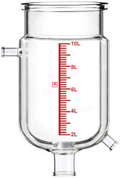 Across International Single-jacketed 10l Reactor Vessel For Ai R10 Glass Reac...