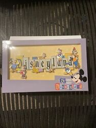 Disneyland Park 65th Anniversary Marquee Boxed Jumbo Pin Limited 1000
