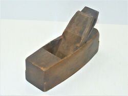 Vintage 2andrdquo New York Tool Co Coffin Smoother Plane Auburn Thistle Blade Inv14658