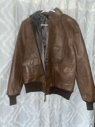 Type A-2 Air Force Us Army Leather Jacket