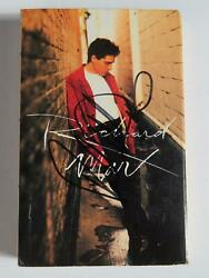 Richard Marx Signed Autograph Auto Hold On To The Night Cassette Tape