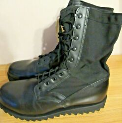 Altama Leather Military Dept Of Defense Boots Manufactured Usa Sz 16r