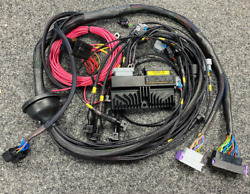 Ford Rs Cosworth Yb Ecumaster Black Wiring Engine Loom And Bosch 550 And K20 Coils