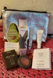 Ipsy Silver Evening Makeup Case amp; Sunday Riley Helios Eliz Arden amp; more $12.95