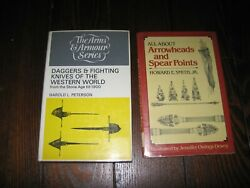 All About Arrowheads Spears Points Howard E. Smith Daggers Fighting Knives Books