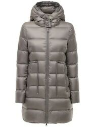 Nw Moncler Quilted Down Jacket Bannec 1c021-00-c0229 Grey Hooded W/code