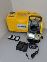 Trimble Ts635 5 Mechanical Total Station Ts 635 W/case And Batteries