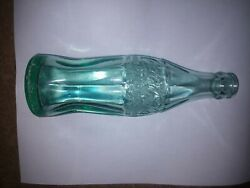 Coca-cola Glass Bottle Bay City Michigan Patent D -105529 6 Oz 8 Tall