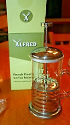 Alfred French Press Coffee Maker Limited Edition Fabfitfun 2018 New In Box
