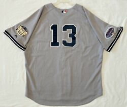 Majestic Size 60 4xl Alex Rodriguez New York Yankees Authentic On Field Jersey