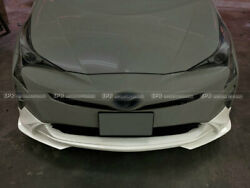 For 15-18 Prius Zvw5 Spl Type Front Lip Pre-facelift Frp Unpainted Body Kits