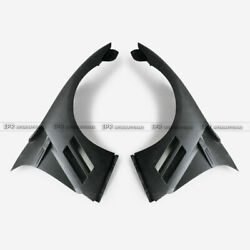 For Nissan R35 Gtr 13-16 As-style Frp Unpainted Front Vented Fender Mudguards