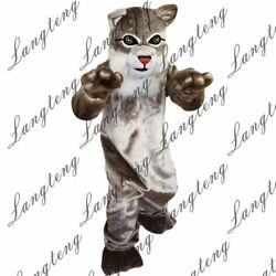 2021 Big Cat Mascot Costume Suits Cosplay Party Game Dress Outfits Clothing Ad