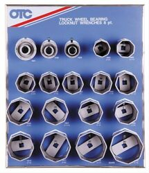 Otc Tools 9851 Locknut Wrench Display With Tools And Board
