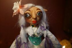 Young Lady Fairy Elf Doll. Poseable Doll Fantasy Doll Collectors Doll Ooak