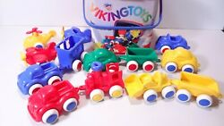 Viking Toys Plastic Sweden Toy Cars Best Lot Plastic 13 Train Cars Airplanes