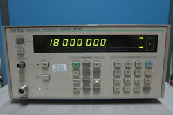 Anritsu Mf76a Microwave Frequency Counter, 10hz-18ghz Cal Valid Till May 2022