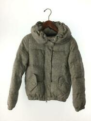 Beauty And Youth United Arrows S Wool Gray 16251491504 Tag Size S Down Jacket