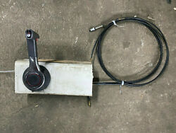 Yamaha Inboard Throttle Control Assy For Boat With 13ft Teleflex Cable