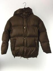 Beauty And Youth United Arrows Tag Size S Brown Polyester Down Jacket From Japan