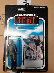 Star Wars Return Of The Jedi Carded Atat Commander Palitoy Vintage