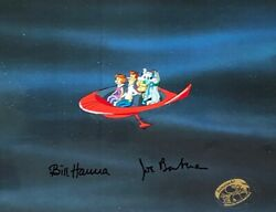 Jetsons Rare Signed 2x Cel Jetsons The Movie Group Shot Hanna And Barbera