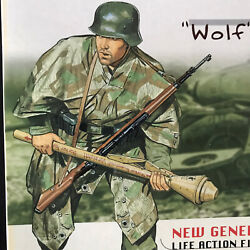 """Dragon Wwii German Grenadier Private """"wolf"""" In East Prussia 1945 Dressed In Camo"""