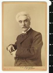 C. 1880and039s Jean-leon Gerome Signed To Hector Giacomelli Photo By Adolphe Braun