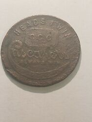 Cascarets Heads And Tails Token See Pictures L361