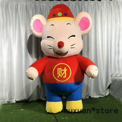 2020 Inflatable Mouse Mascot Costume Suits Cosplay Party Game Dress Outfits 2m