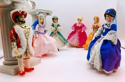 Vintage Henry Viii And His Six Wives Collectable Rexard Dolls Boxed