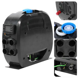 4 Holes Airtronic Diesel Air Heater With Lcd Switch Remote For Car Truck Black