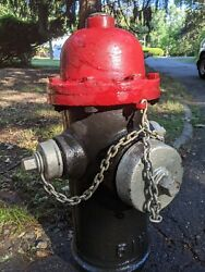 Vintage Darling 1914 - 5 Inch Barrel Fire Hydrant From V And M Co.