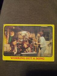 1971 Topps Partridge Family Yellow Border Working Out a Song #40. G VG