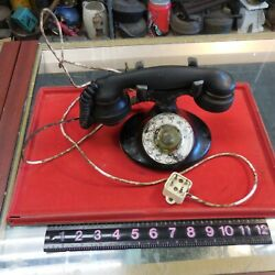 Western Electric Art Deco Rotary Dial Telephone
