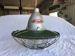 Vintage Crouse Hinds Explosion Proof Industrial Gas Station Light